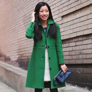 EUC Green Lady Day Coat